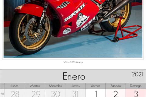 Calendario 2021 Paco Villaverde