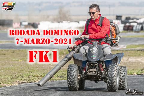 Rodada FK1 domingo 07-03-2021
